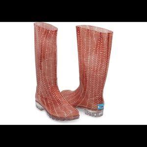 Toms Rain boots NWOT
